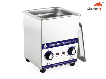 Jewelry Benchtop Ultrasonic Cleaner 60W 40KHz Low Noise With Stainless Steel Tank